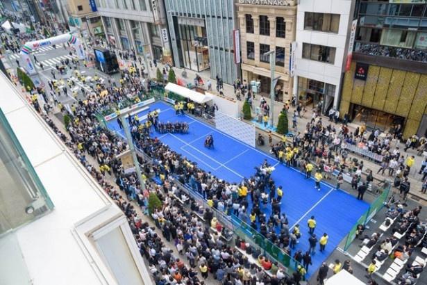 昨年の5月2日には1日で約2万2000人が来場し、障碍者スポーツの魅力を満喫した