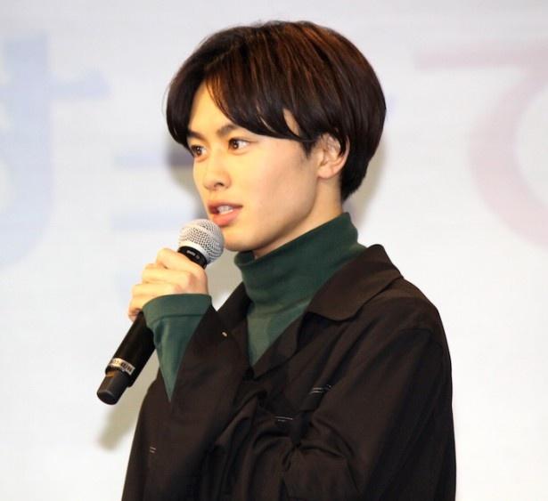 ホスト系スウィートBOY・美丘千秋を演じる草川拓弥