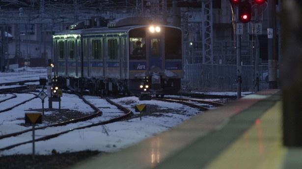初回放送では、いわて銀河鉄道の盛岡駅が紹介される