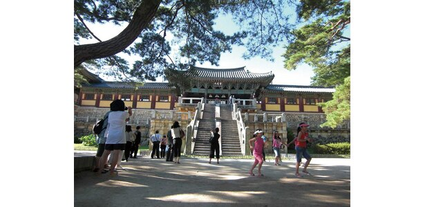 1995年、世界遺産に認定された仏国寺
