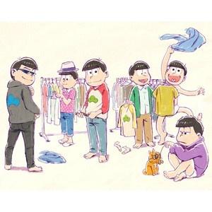 「おそ松さん」第2期が決定!支度を始めた6つ子を描いた新ビジュアルも公開