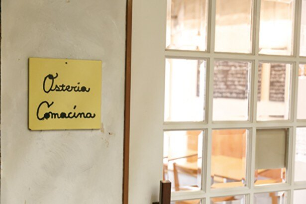 Osteria Comacina(オステリア コマチーナ)のナチュラルテイストな店は女性好み