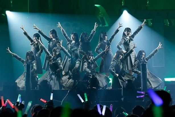けやき坂46(ひらがなけやき)も「誰よりも高く跳べ!」ほか3曲を披露