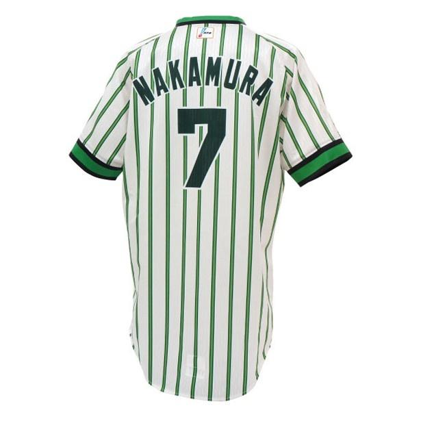 南海ホークスの復刻ユニフォームは、購入時にネームと番号を監督、コーチ、選手、育成選手から指定できる