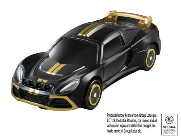車体後部のエンジンルーフが開いてエンジンルームが見える「ロータス エキシージ R-GT」