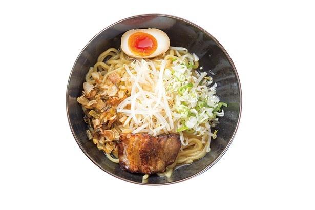 【写真を見る】麺屋帝旺/漢方辛し油そば(650円)