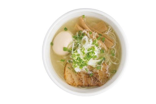 麺処まるわ/淡麗塩そば(680円)