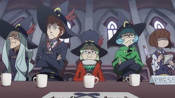 「リトルウィッチアカデミア」第14話先行カットが到着。新学期早々、妖精たちがストライキ!