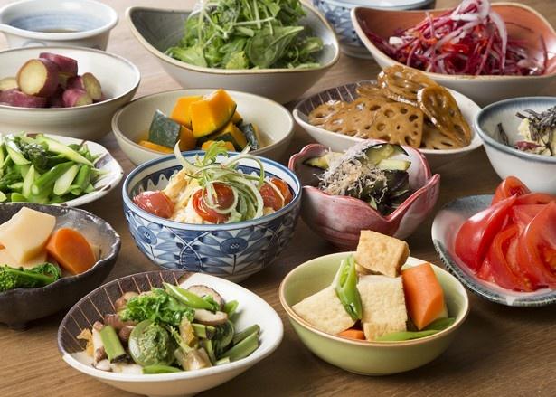 新鮮な野菜がたっぷりと味わえる「やさい家めい」がJRゲートタワーにニューオープン