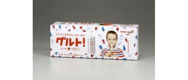 「グルト!」ピーチ6本入り(258円)