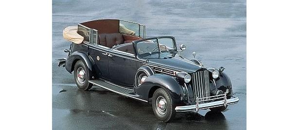 これが世界に1台のフランクリン・ルーズベルト専用車「パッカード トゥエルヴ」