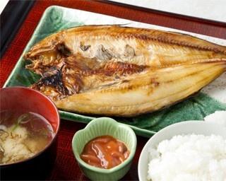 ウトロ漁協 婦人部食堂/ほっけ定食(1,200円)