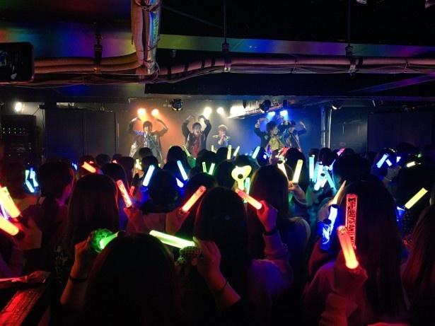 3月26日高知公演の様子(田村・辻本・小林・平松・土田)