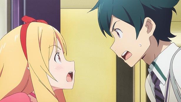 クラス委員長・神野めぐみが和泉家へ。「エロマンガ先生」第2話の先行カットが到着