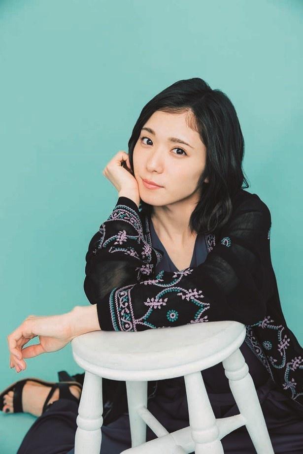 「帯ドラマ劇場 やすらぎの郷」(テレビ朝日系)でバーテンダー・財前ゆかりを演じる松岡茉優