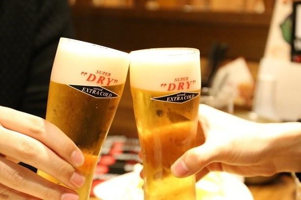 【写真を見る】「スーパードライエクストラコールド」が0円!?