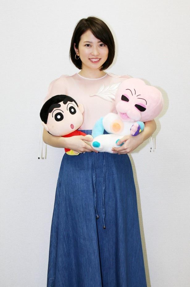 志田未来が「映画クレヨンしんちゃん 襲来!! 宇宙人シリリ」に本人役で登場!