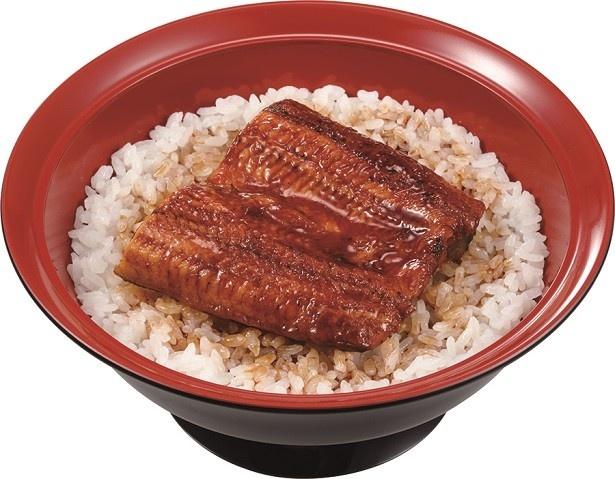 安全にこだわり香ばしくふっくらと焼き上げたウナギの蒲焼を堪能できる「うな丼」(並盛780円)