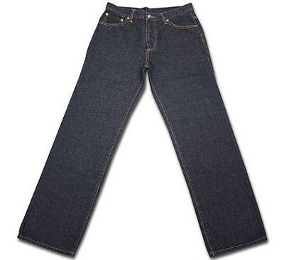 11/15から再販がスタートした「メンズジーンズ ルーズフィット」(690円)