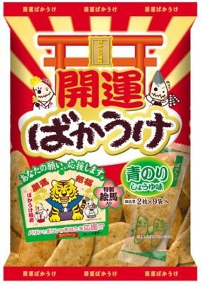 「開運 青のり」(220円前後)