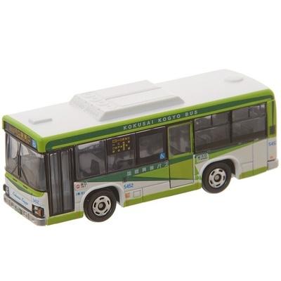 「国際興業バス 別注トミカ(いすゞ エルガ)」(1100円)