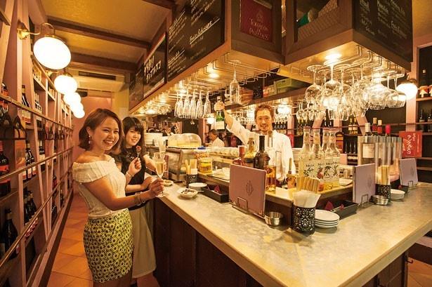 お気軽フレンチと50種のワインに女子歓喜/ワイン居酒屋 ポポンペット