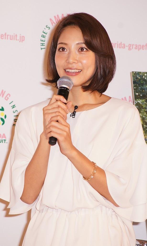 相武紗季が芸能界を目指したきっかけなどを語った