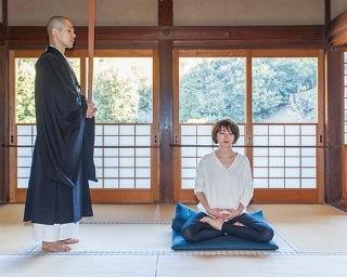 坐禅は姿勢と呼吸を整えて行う