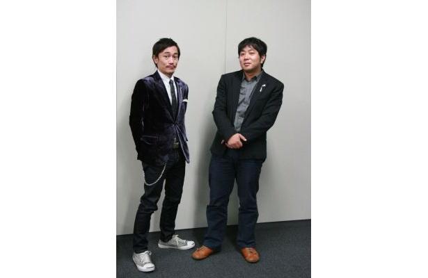 「ヨーロッパ企画」中川晴樹さん(左)と諏訪雅さん(右)