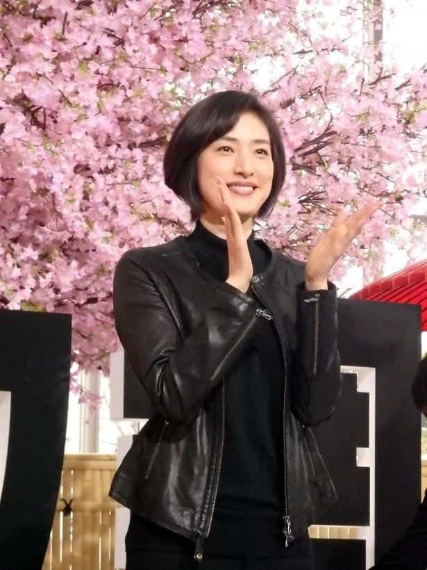 第2シーズンに突入する「緊急取調室」で主演を務める天海祐希