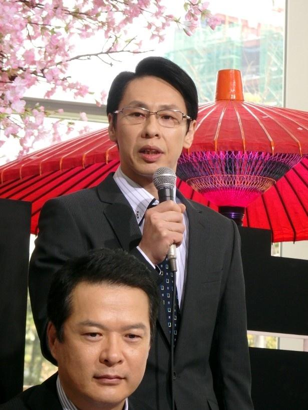 今シーズンからレギュラーメンバーとなった大倉は警視庁刑事部部長・磐城和久を演じる