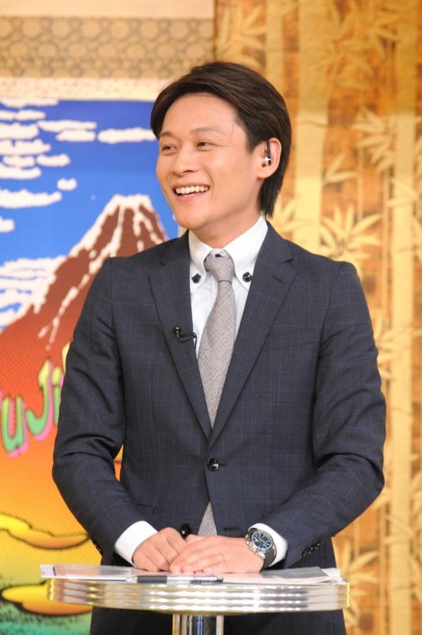「世界の日本人妻は見た!」に出演する大吉洋平アナウンサーに直撃! 爆笑問題の印象など語る