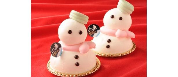 「エモ カフェ」の「SNOW MAN」(680円) ※1日15個限定、スイーツフォレスト限定