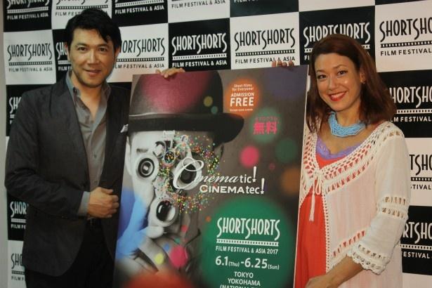 ショートショートフィルムフェスティバル&アジアの記者会見が開催