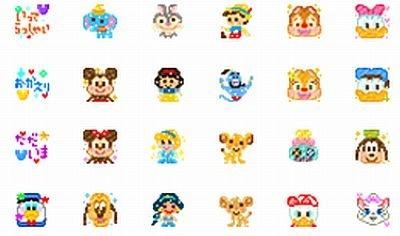 ミニーやドナルド、白雪姫、ピノキオ、シンバも!