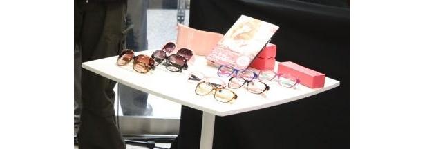 益若さんがプロデュースしたメガネやサングラス