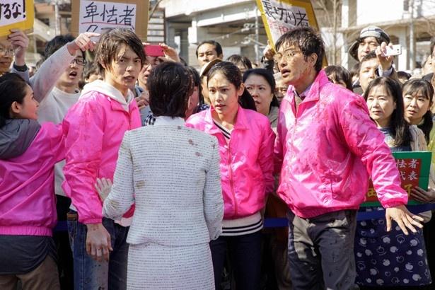 「4号警備」第4話では、市長選に立候補した女性の警護に付くが…