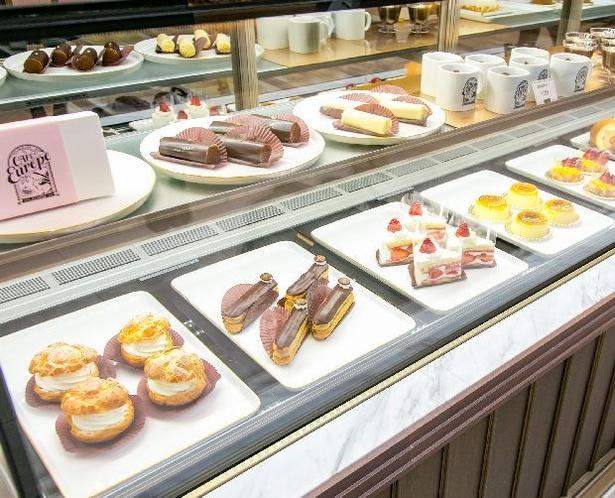 「イートインスペースではケーキとコーヒーが楽しめます」と広報担当者