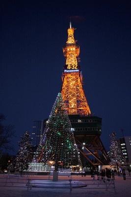 【番組3】さっぽろホワイトイルミネーション。開催:11/27(金)〜2010/1/3(日)、駅前通と南1条通は〜2010/2/11