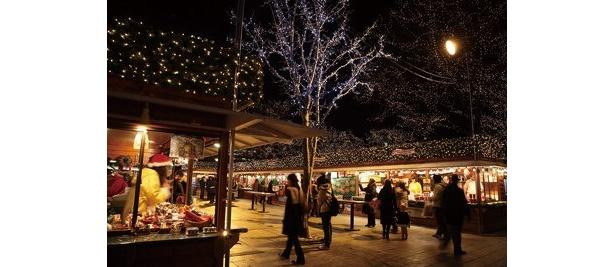 【番組3】ミュンヘン・クリスマス市。開催:11/27(金)〜12/24(木)。ホットワイン(400円〜)で体を温めよう!
