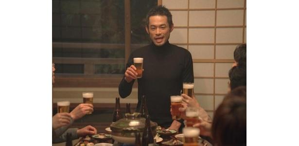 """「一番搾り生ビール」の新テレビCMはイチロー選手の""""素""""が満載!"""
