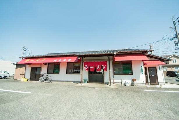福岡市西区の名物店。駐車場が広く入りやすい