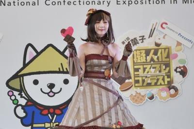 チョコレートの擬人化コスプレ「ショコラ」(たかりゅうさん)