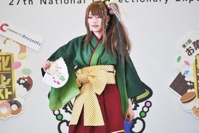 赤福氷の擬人化コスプレ「御影緋菜」(カノさん)