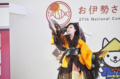 月餅の擬人化コスプレ「月斗 渡」(青華カナさん)