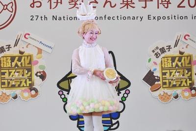金平糖の擬人化コスプレ「シャリ」(ちなつさん)
