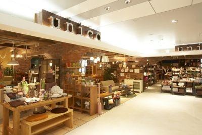 [5F]「unico(ウニコ)」オリジナル家具とセレクト雑貨を提案