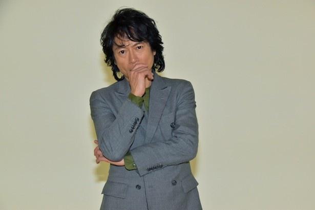 「連続ドラマW 社長室の冬-巨大新聞社を獲る男-」で主演を務める三上博史