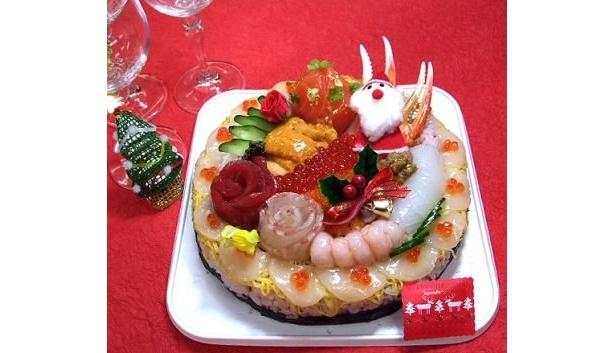 クリスマスは豪華なお寿司で楽しもう!