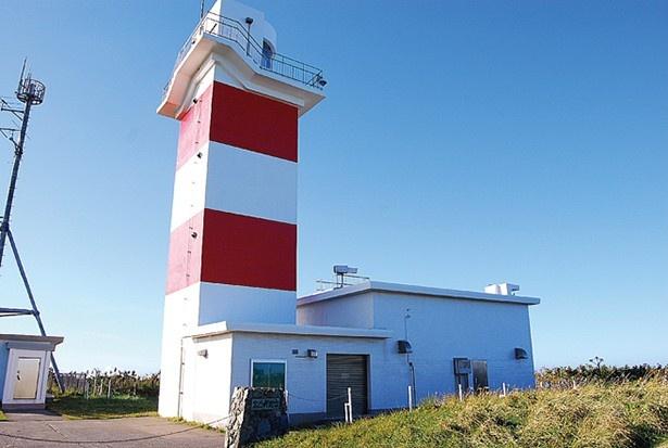 道内で3番目に古い宗谷岬灯台
